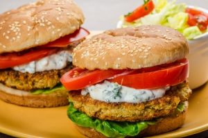 family recipe for Chickpea Burgers