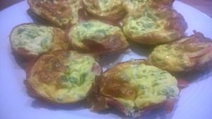 egg muffins Crust less quiche cancer nutrition recipe