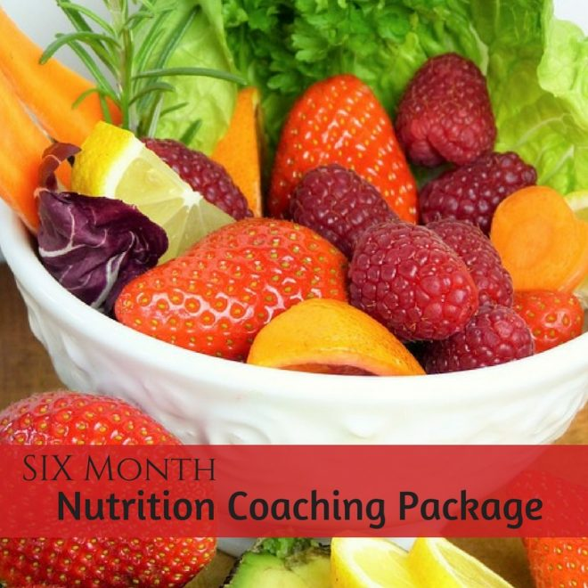 six month nutrition coaching package