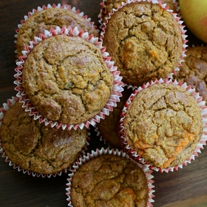Orange and Carrot Cake Breakfast Muffins