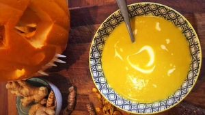 Horribly Healthy Spiced Pumpkin Soup