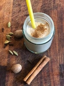 Spicy Chai Banana Smoothie: